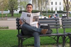 Interview med Erkan Øzden i Washington.